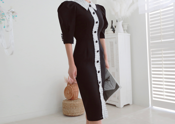 koi one-piece (black)