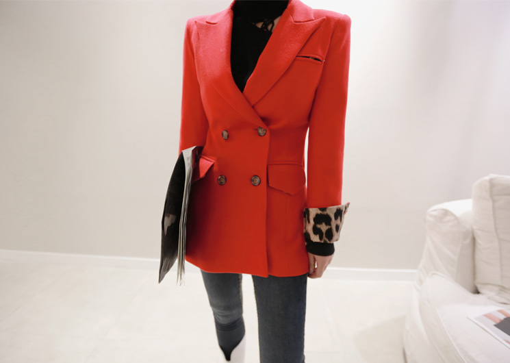 dolce jacket (red)