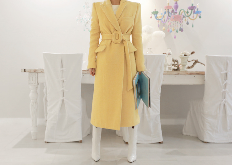 cocktail belt coat