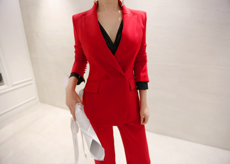 palette jacket (red)