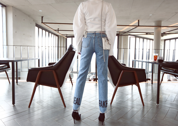 true denim pants