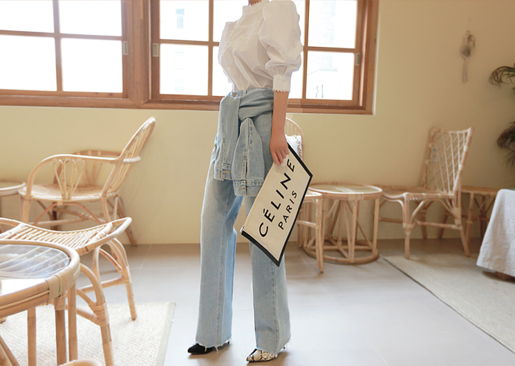 picnic denim pants