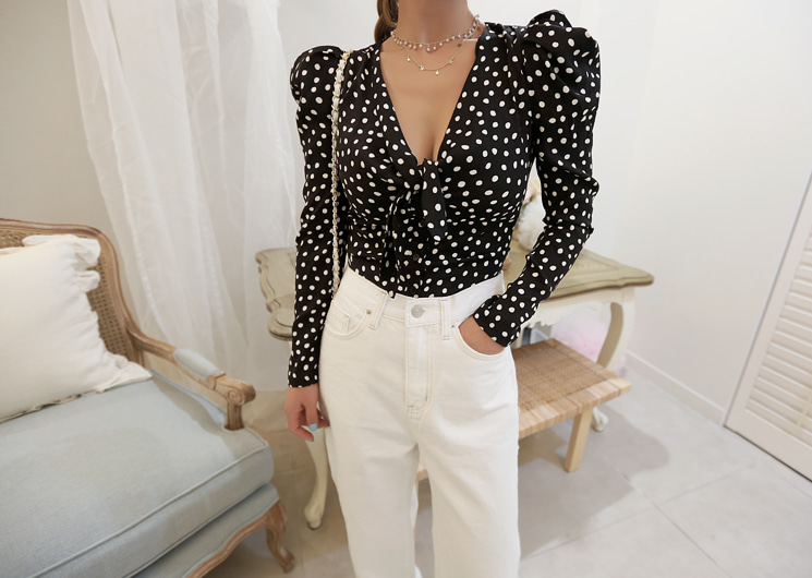sender dot blouse