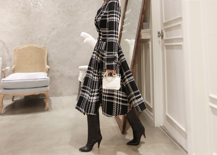 check long coat (ivory)