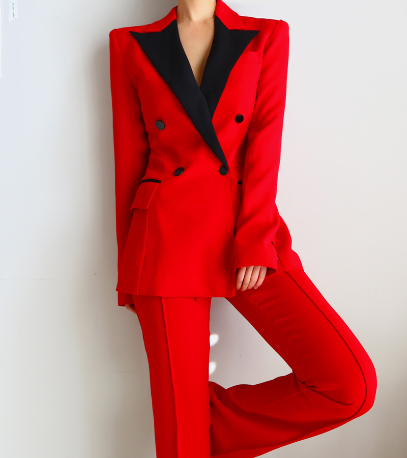 trademark jacket (red)