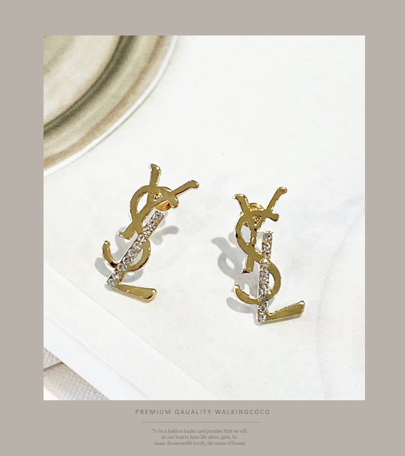 Y.S.L earrings