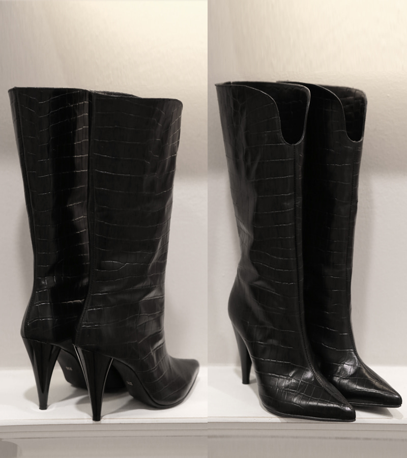 walking art boots (black)
