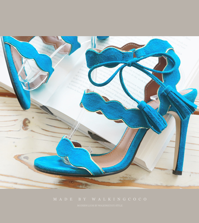 walking wave heel