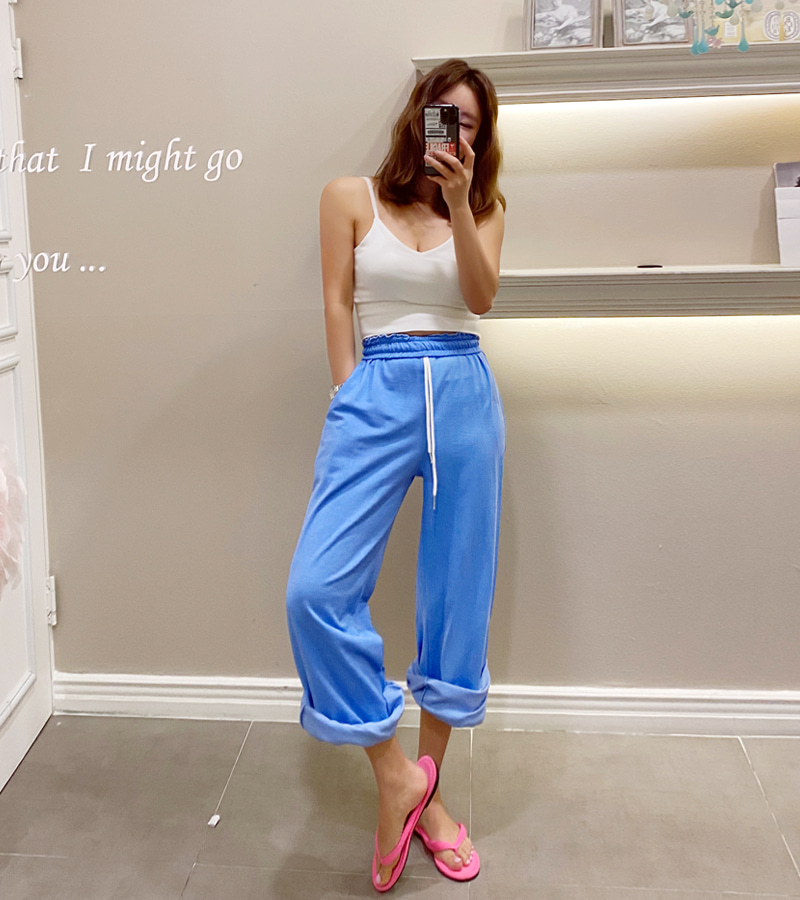 vintage cut pants (blue)
