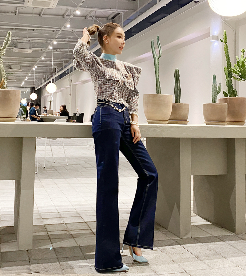 dash denim pants